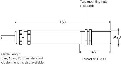 ExTemp dimensions