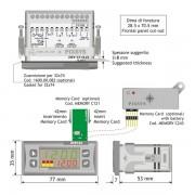 ATR142 indicating controller dimensions