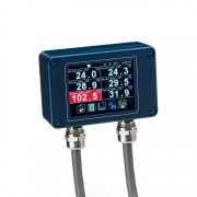 PM180 6-channel pyrometer hub
