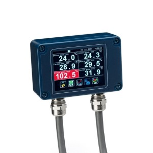 Non-contact temperature measurement devices
