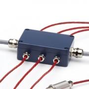 PMBHUB 6 channel junction box for PyroMiniBus temperature measurement system