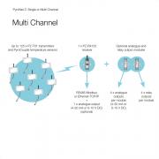 PyroNet Z system diagram (multi-channel)