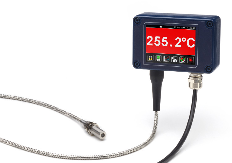 The FibreMini fibre optic pyrometer for metals and harsh, high-temperature applications